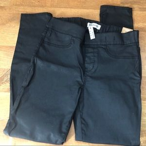 Madewell Black Coated Skinny Skinny Legging Jeans